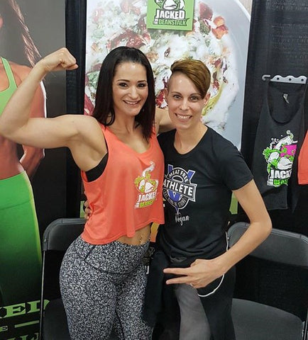 samantha shorkey anne marie campbell jacked on the beanstalk meat free athlete
