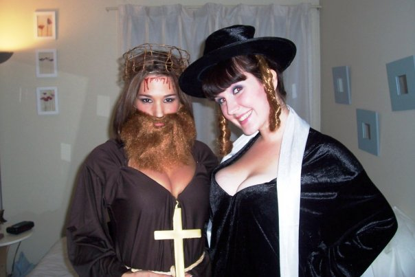 offensive sexy disturbing halloween costumes sexy jesus and sexy rabbi