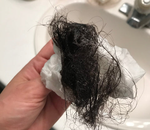 shower drain postpartum hair loss