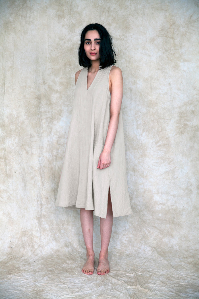 ALPINE DRESS IVORY