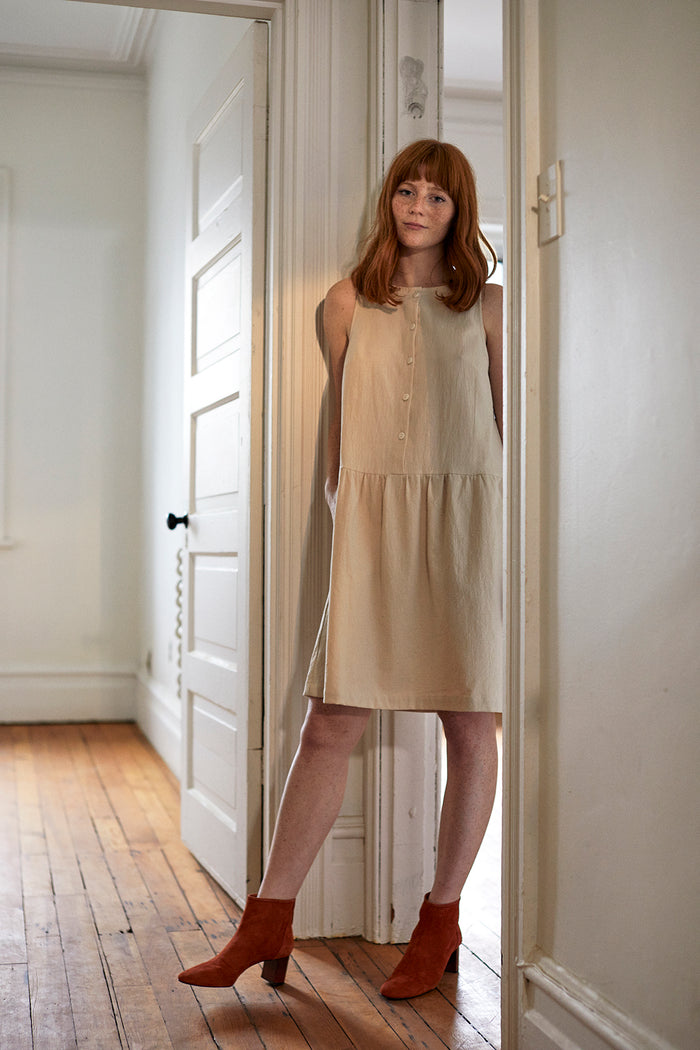 CLARE DRESS IVORY