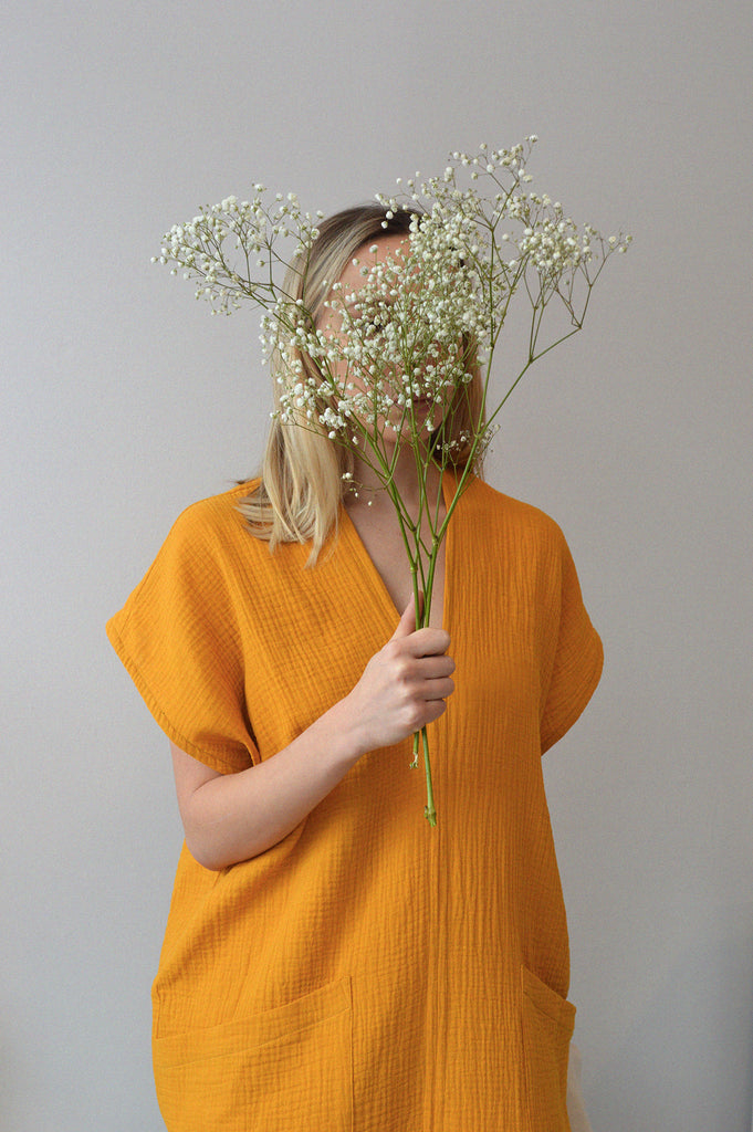 GENNY DRESS GOLDENROD
