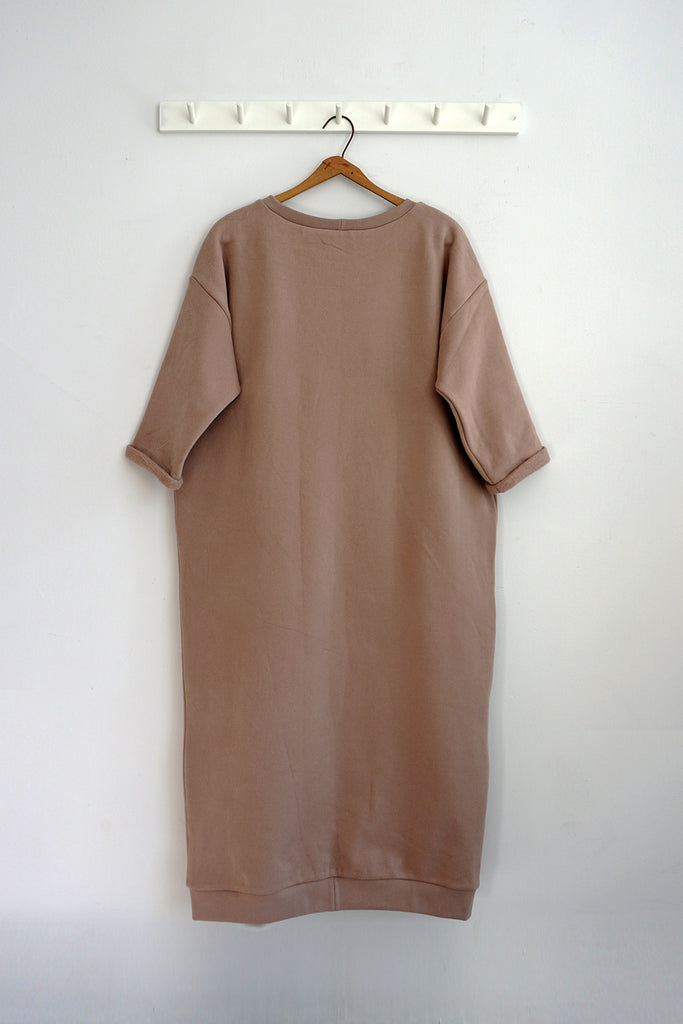 DALE DRESS ROSE BISQUE