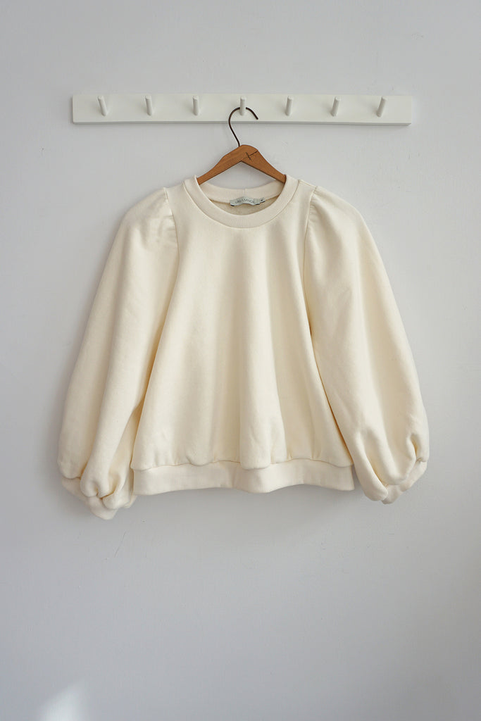 FLORA SWEATSHIRT CLOUD