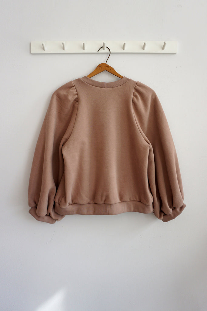 FLORA SWEATSHIRT ROSE BISQUE