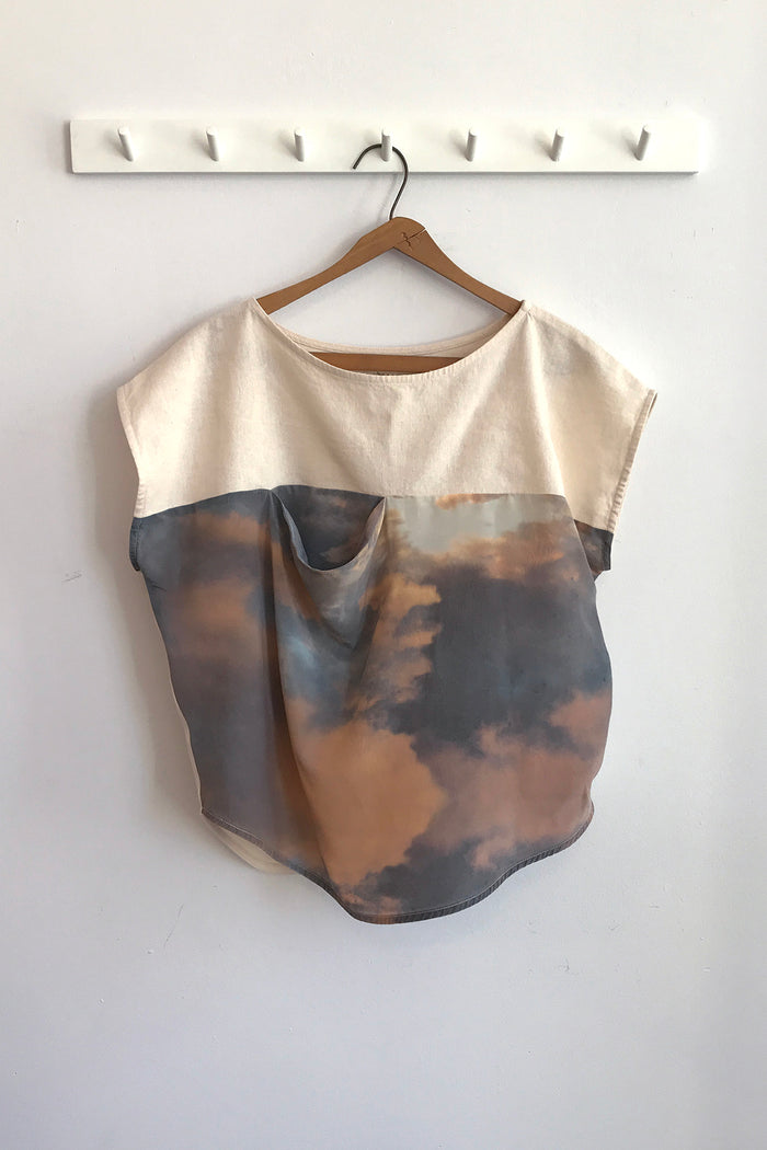POCKET TOP CLOUD SILK