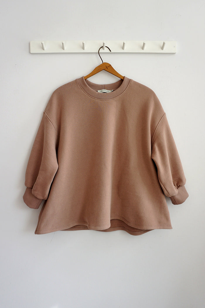 LEONA SWEATSHIRT ROSE BISQUE