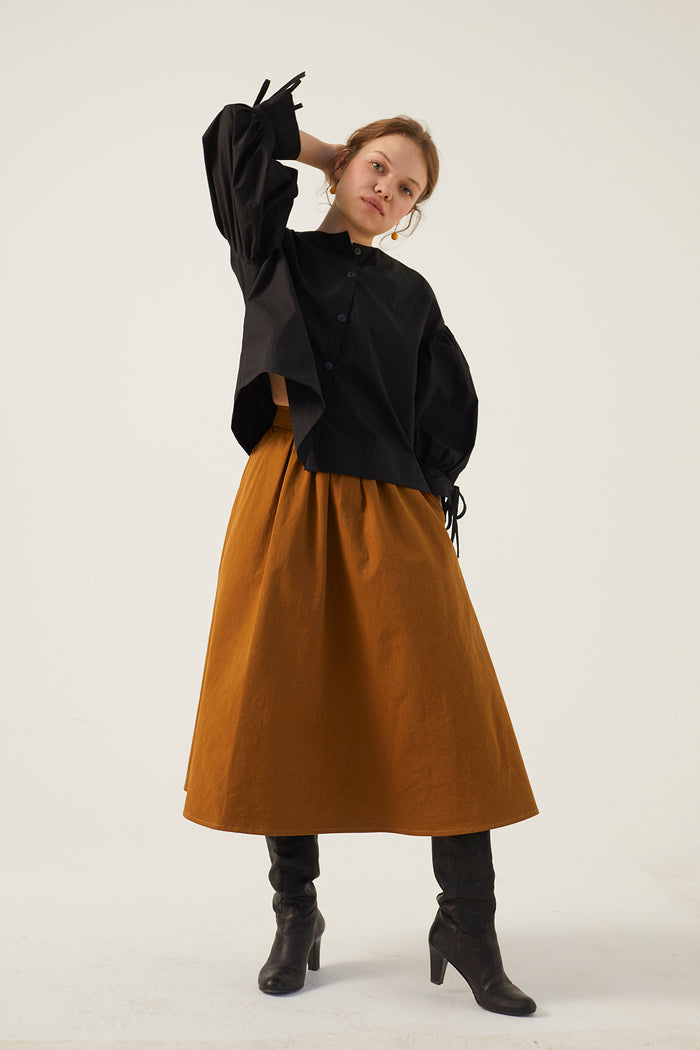 PERCY SKIRT CARAMEL