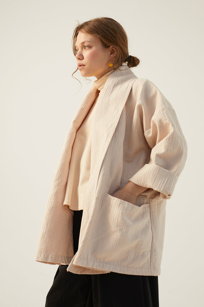 LOUISE JACKET OATMEAL