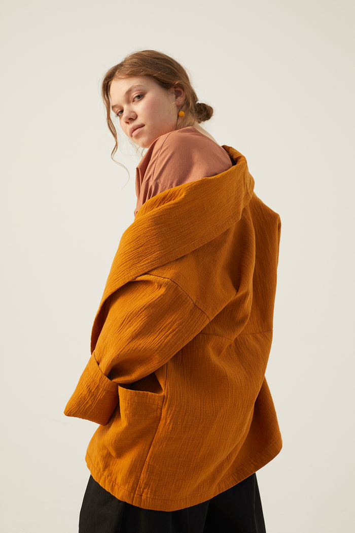 LOUISE JACKET OCHRE