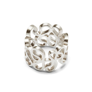Flamenco ring – sterlingsølv