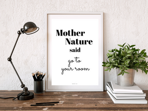 Mother Nature - poster