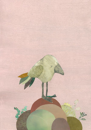 Kirstine Falk - Thinking bird - Grafik - nordcraft