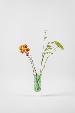 about form and function - Flower tube - grøn - vase - nordcraft