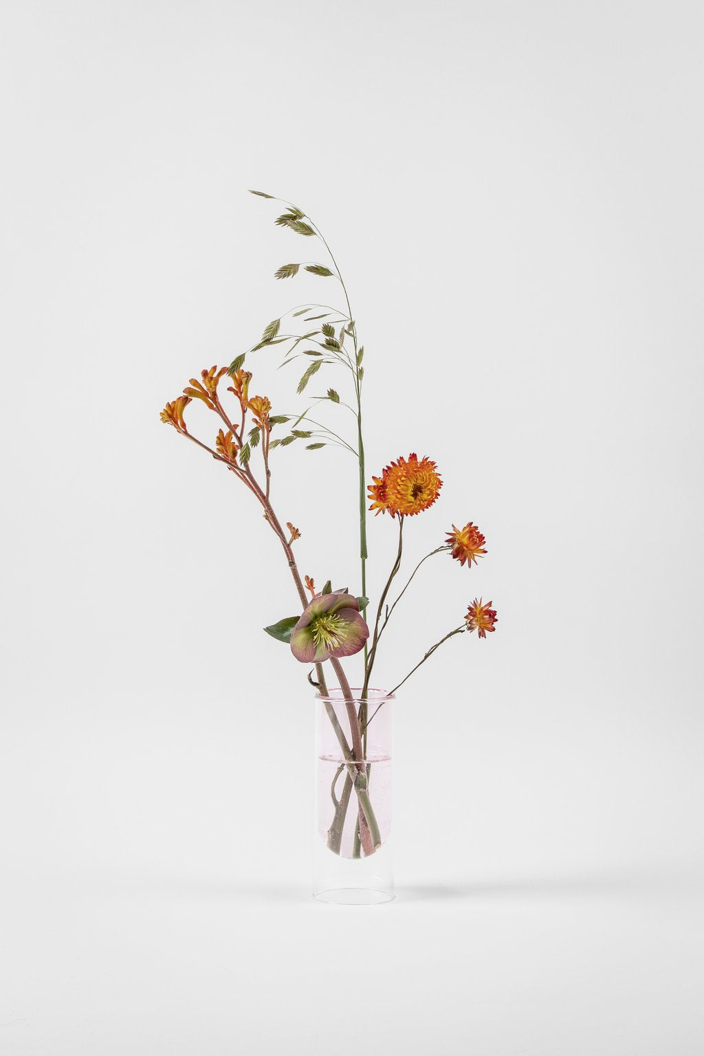 about form and function - Flower tube - rosa - vase - nordcraft