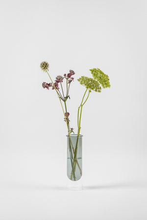 about form and function - Flower tube - smoke - vase - nordcraft