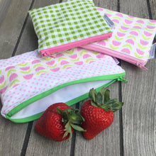 Reusable Zippered Bag Custom Order