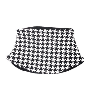 Adult Handmade Neck Warmer Houndstooth