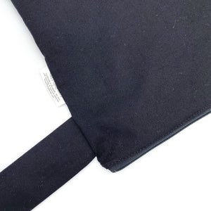 Large Wet Bag with Handle Solid Black