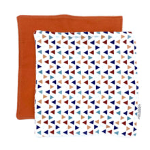 Toddler Sized Reusable Zippered Bag Football Print