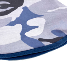 Child's Handmade Neck Warmer Camo Navy