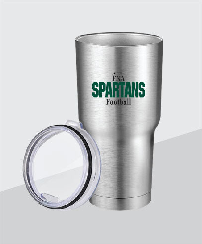 Spartans 30 oz Stainless Steel Tumbler