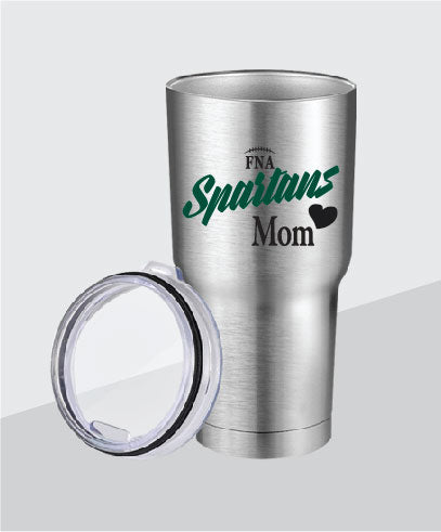 Spartans 30 oz Mom Stainless Steel Tumbler