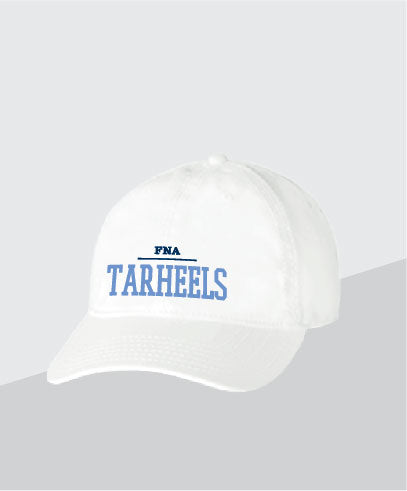 Tarheels White Dad Cap