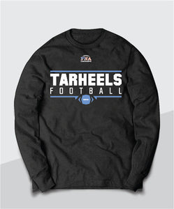 Tarheels Gridiron Long Sleeve Tee