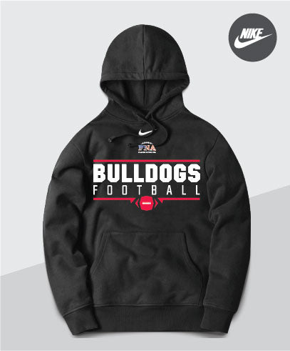 Bulldogs Nike Team Club Hoodie
