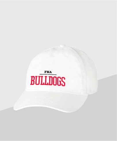 Bulldogs White Dad Cap
