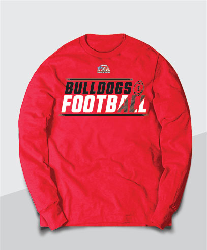 Bulldogs Competitive Long Sleeve Tee