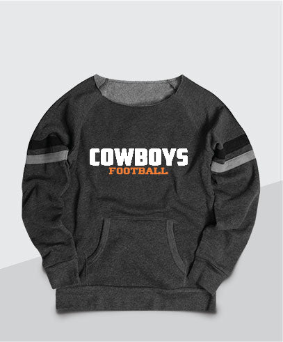 Cowboys Ladies Scoop Neck