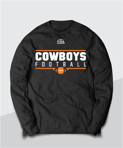 Cowboys Gridiron Long Sleeve Tee