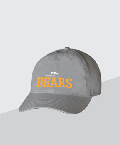 Bears Grey Dad Cap