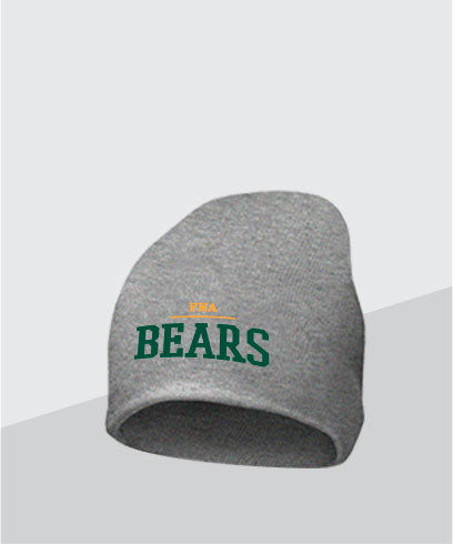 Bears Grey Knit Cap