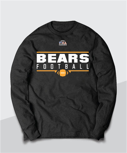 Bears Gridiron Long Sleeve Tee