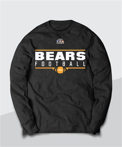 Bears Gridiron Youth Long Sleeve Tee