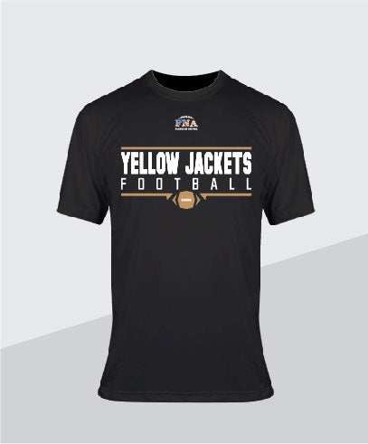 Yellow Jackets Youth  Performance Tee