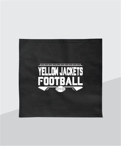 Yellow Jackets Stadium Blanket