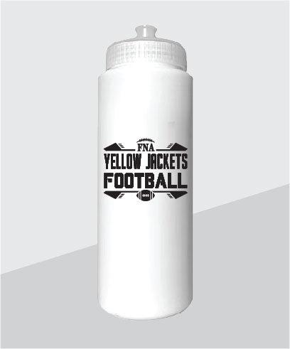 Yellow Jackets Sports Bottle