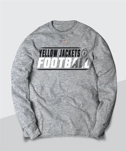 Yellow Jackets Competitive Youth Long Sleeve Tee