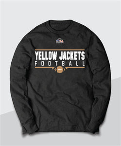 Yellow Jackets Gridiron Youth Long Sleeve Tee