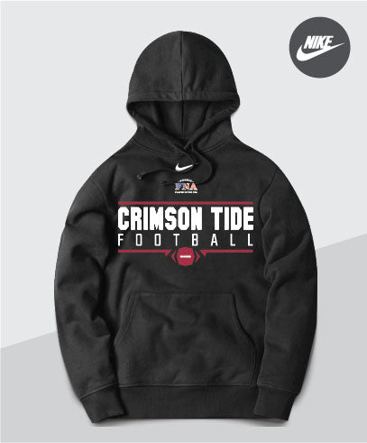 Crimson Tide Nike Team Club Hoodie