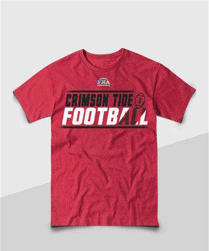 Crimson Tide Youth Competitive Tee