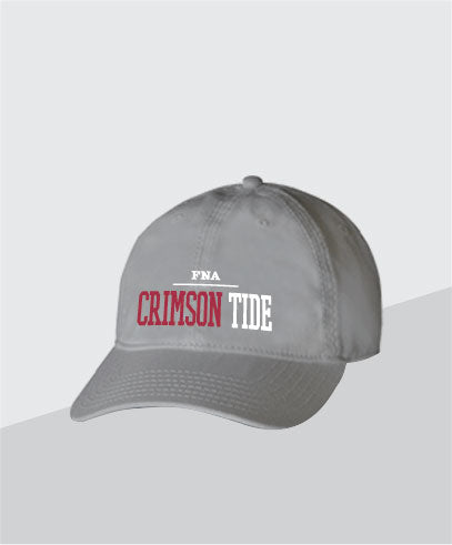 Crimson Tide Grey Dad Cap