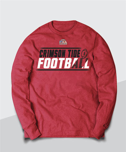 Crimson Tide Competitive Long Sleeve Tee