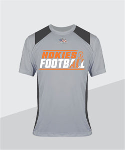 Hokies Color-Block Performance Tee