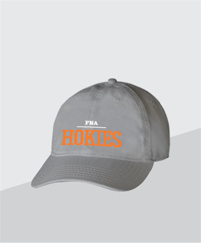 Hokies Grey Dad Cap