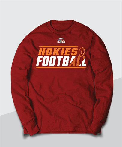 Hokies Competitive Long Sleeve Tee